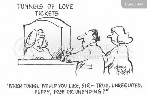 free love cartoon