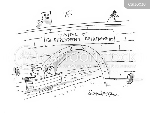 co-dependence cartoon