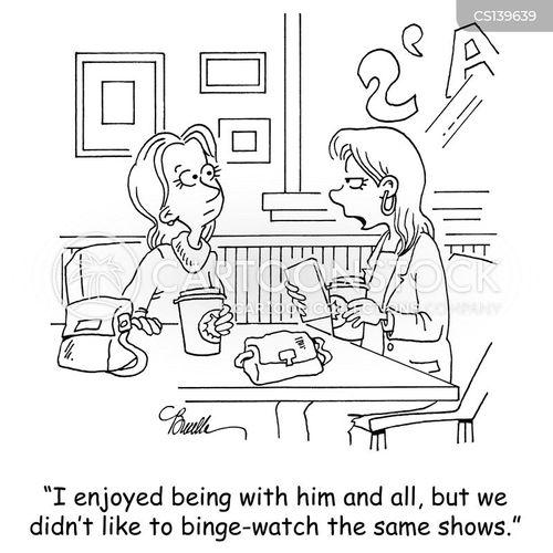 shared interests cartoon