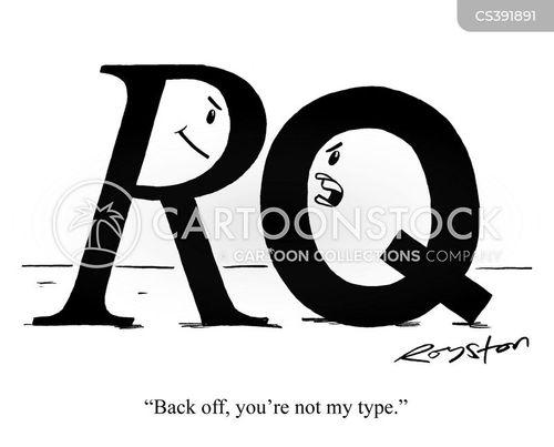 typeface cartoon