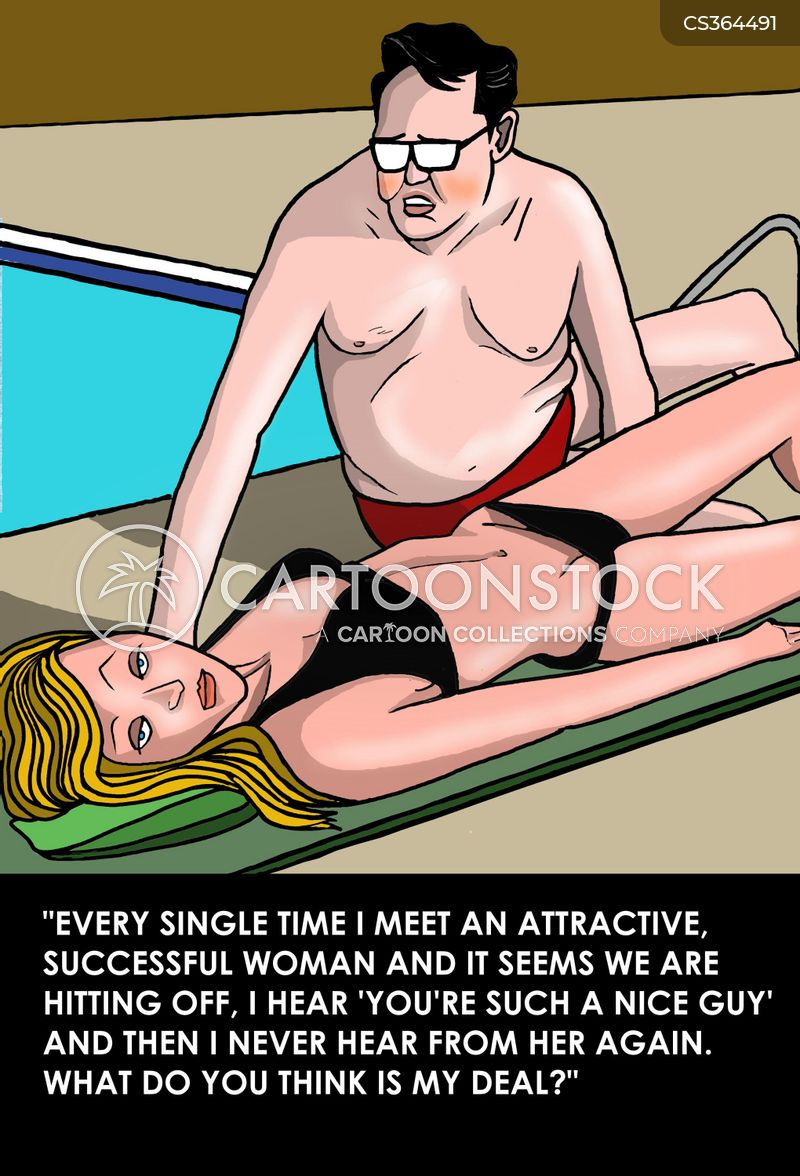 attractive woman cartoon