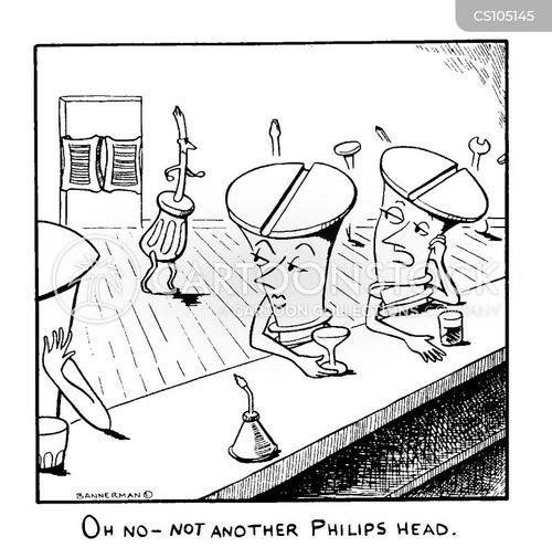 screwdrivers cartoon