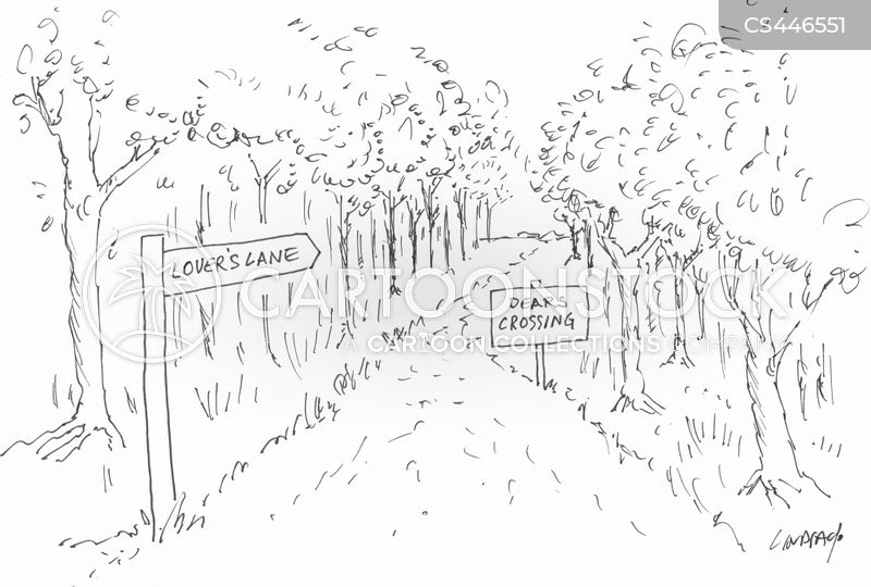 lovers lane cartoon