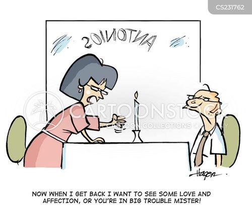downtrodden husband cartoon