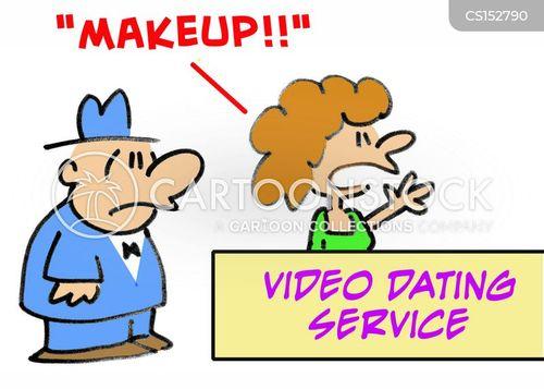 video dating cartoon