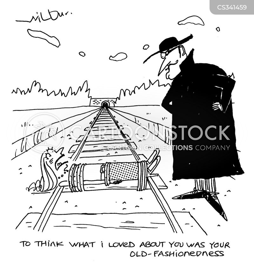 silent movie cartoon