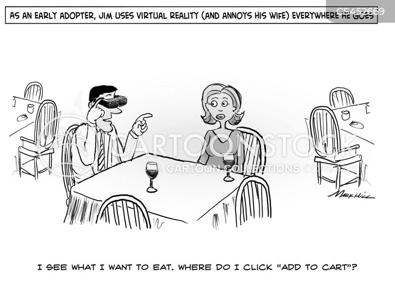 virtual cartoon