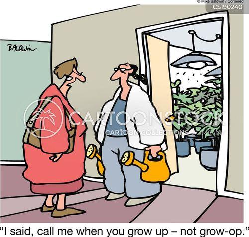 substance abuse cartoon