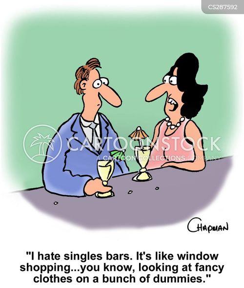 window shoppers cartoon
