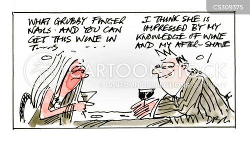 grubby cartoon