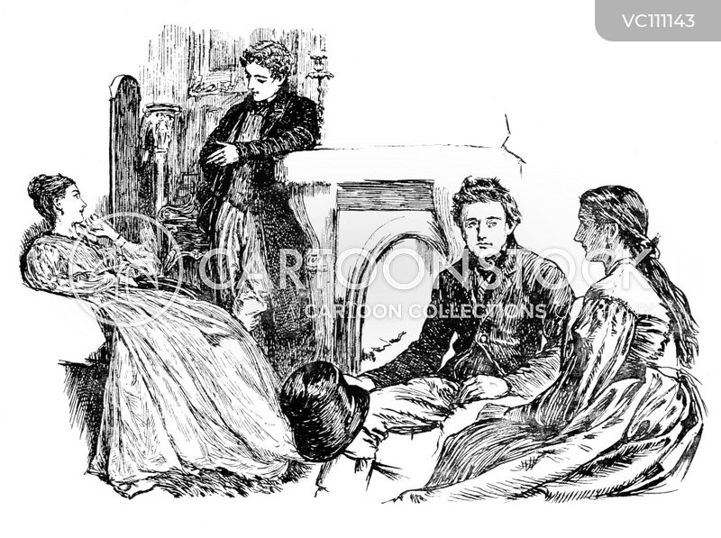 Victorian Home cartoons, Victorian Home cartoon, funny, Victorian Home picture, Victorian Home pictures, Victorian Home image, Victorian Home images, Victorian Home illustration, Victorian Home illustrations