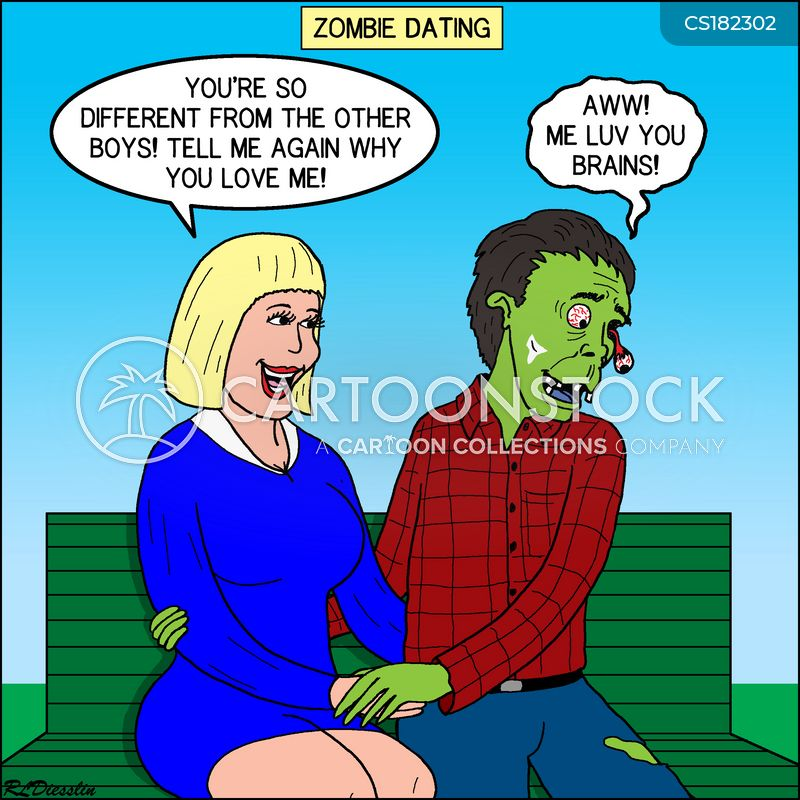 dating life cartoon