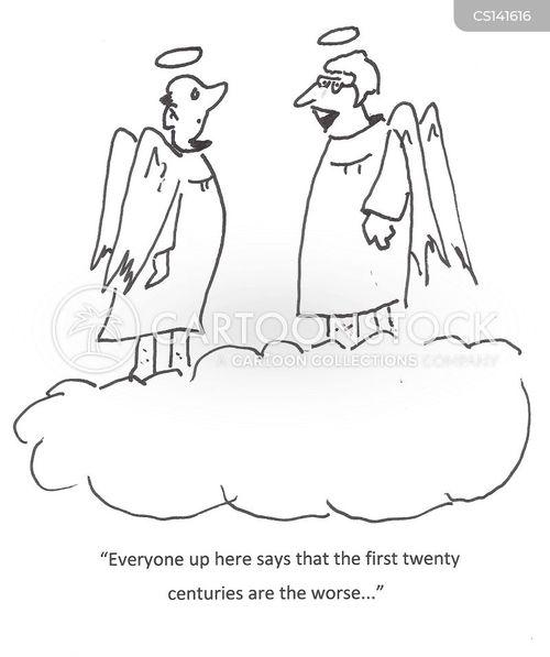 immortals cartoon