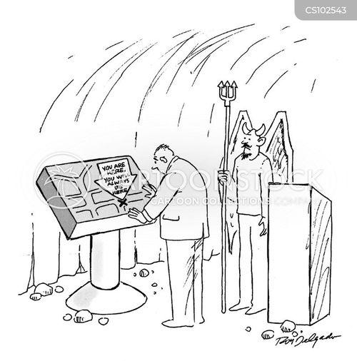 bad angel cartoon