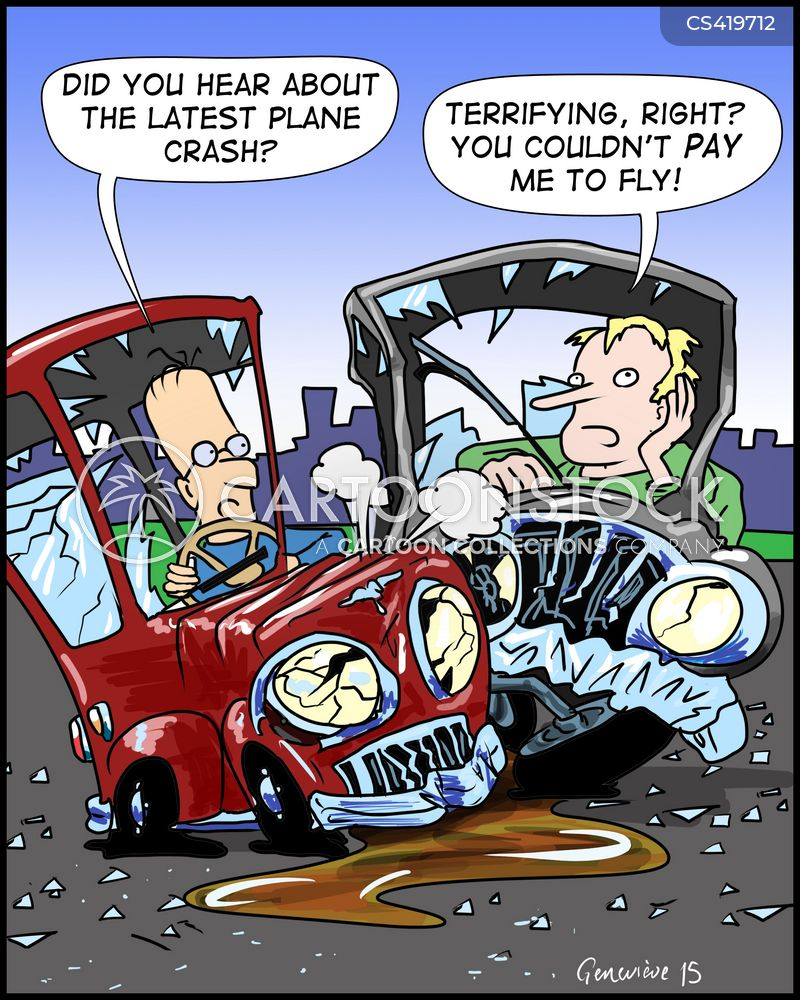 flying fears cartoon