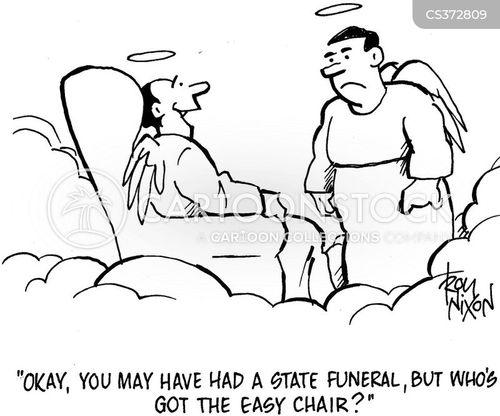 state funerals cartoon
