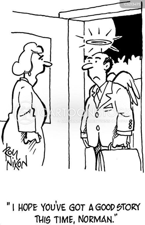 angellic cartoon