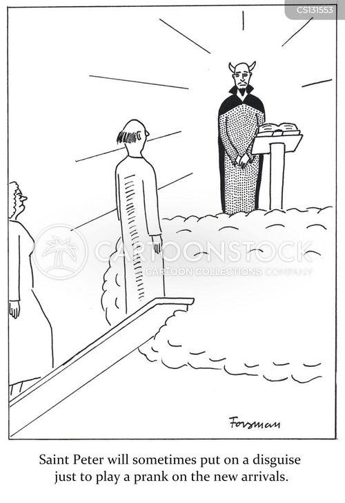 new arrival cartoon