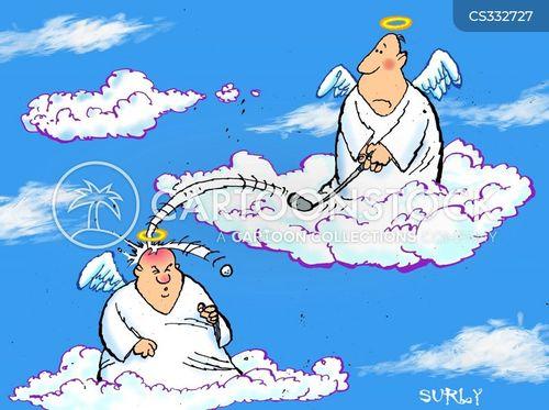 good shot cartoon