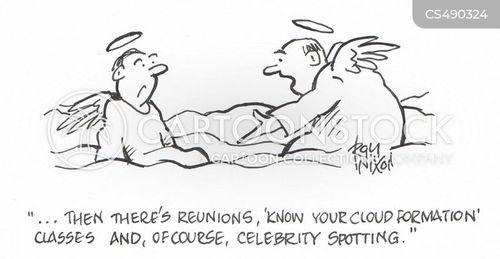 celebrity spotting cartoon