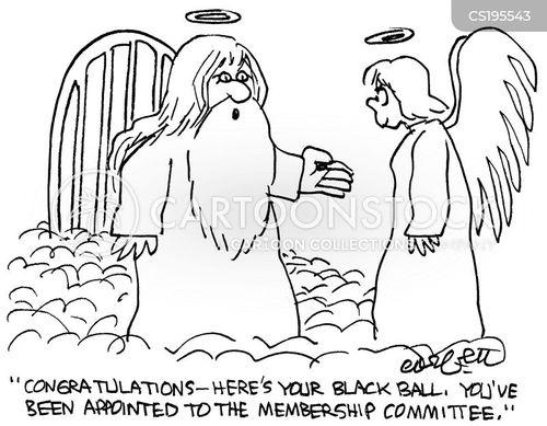 membership cartoon