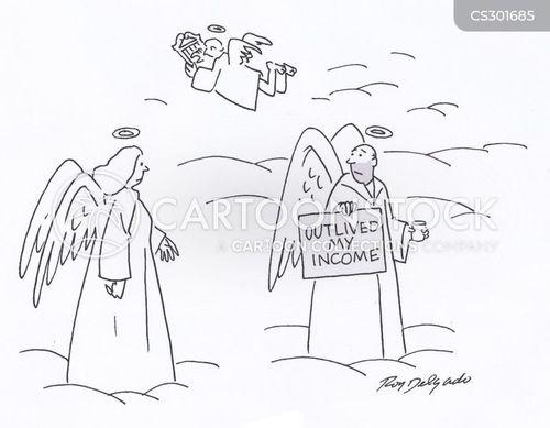outlive cartoon