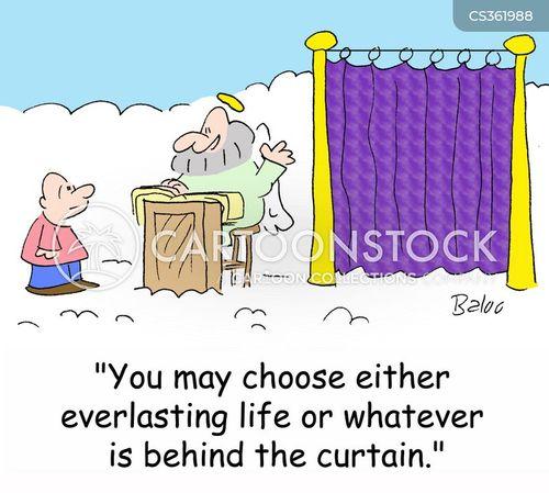 everlasting life cartoon
