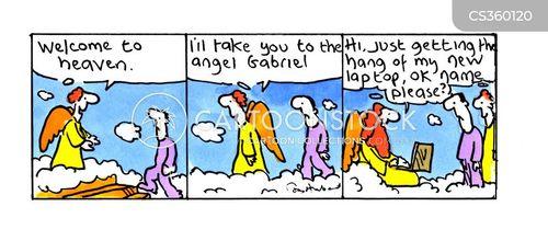 gabriel cartoon