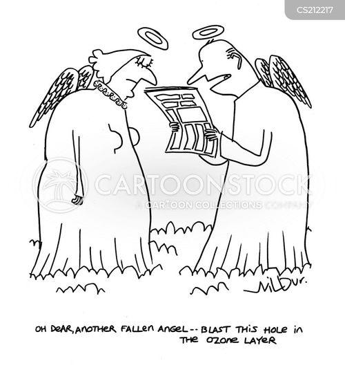 fallen angel cartoon