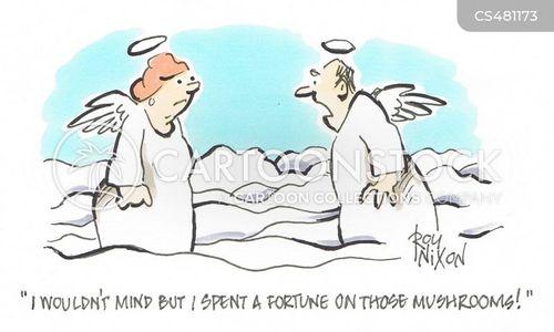 fungis cartoon