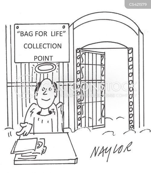 bag for life cartoon