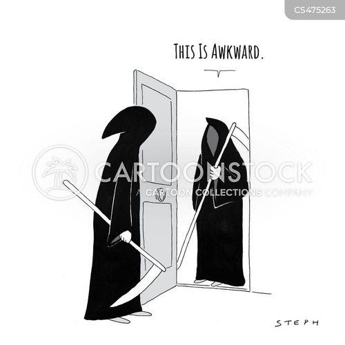 social situations cartoon
