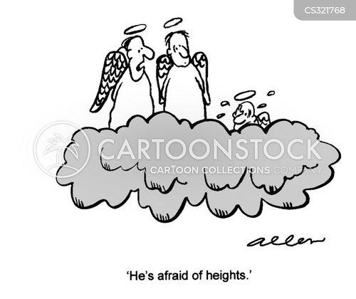 vertigo cartoon