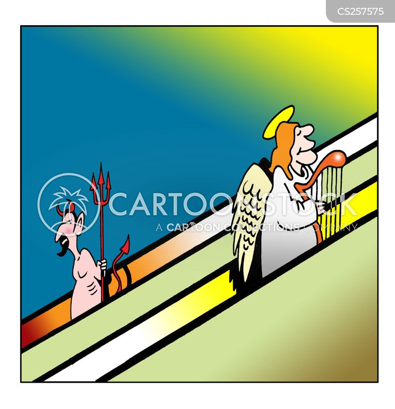 going up cartoon