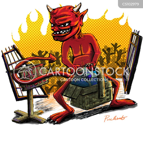 hell in a handbasket cartoon