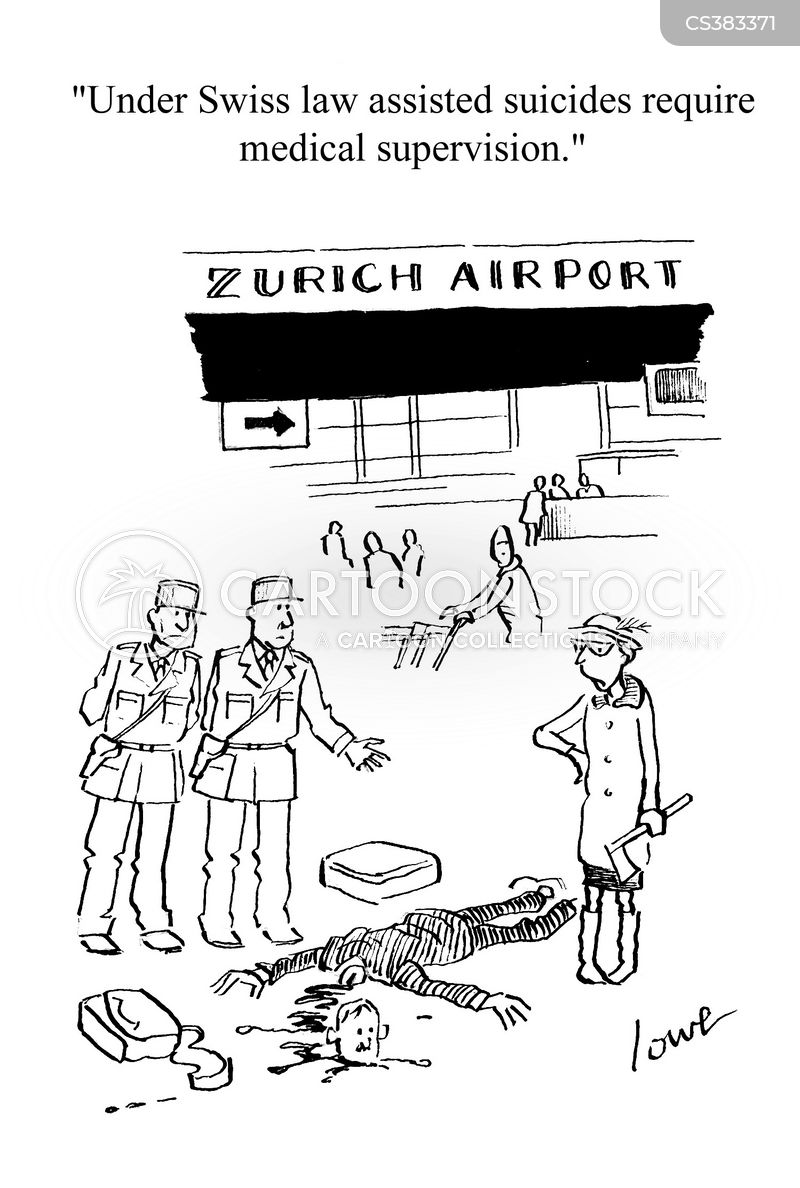 zurich cartoon