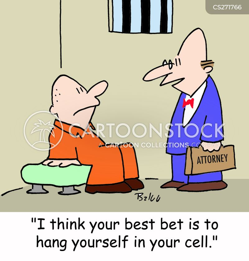 hanging yourself cartoon