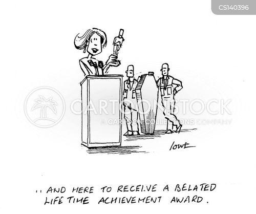 posthumous cartoon