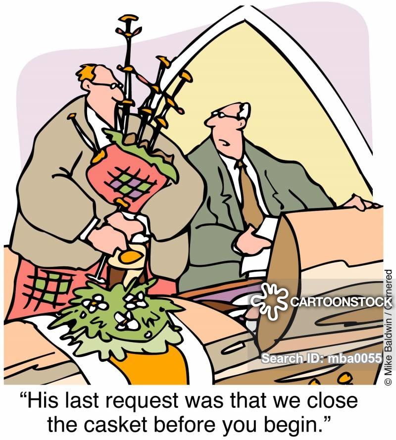 bagpipes cartoon
