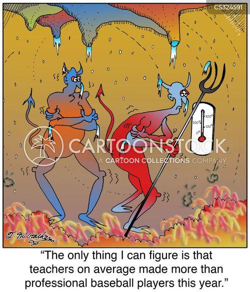 sleet cartoon
