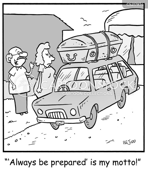 always be prepared cartoon