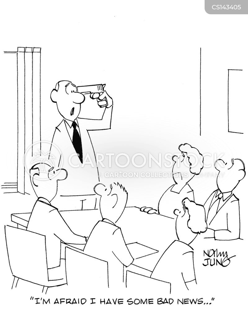 board chairman cartoon