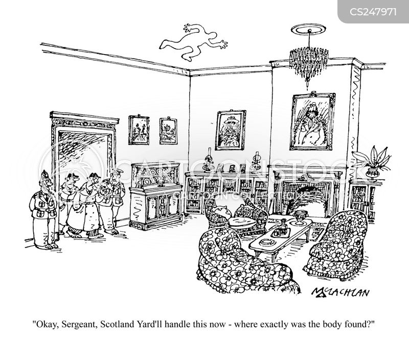 scotland yard cartoon