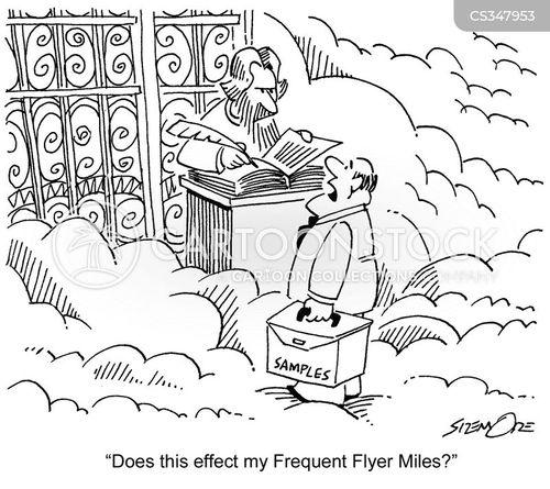 air mile cartoon