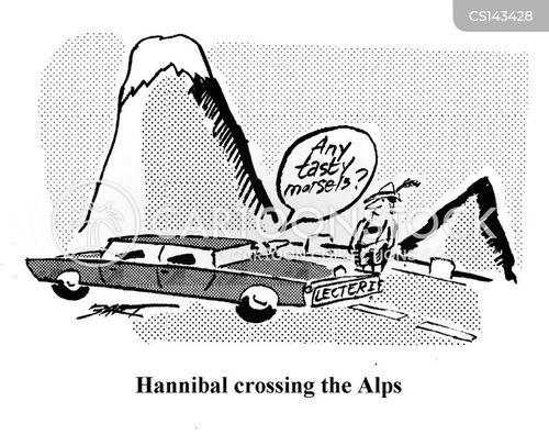 hannibal lector cartoon