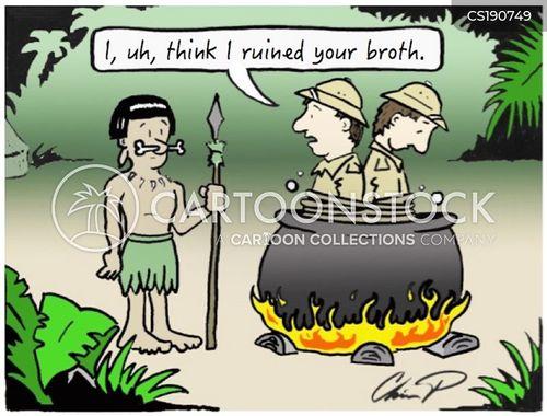 victorian explorer cartoon