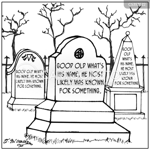 dead celebrities cartoon