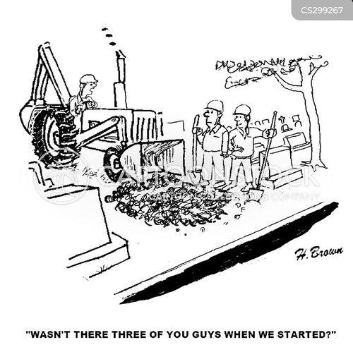 grave diggers cartoon