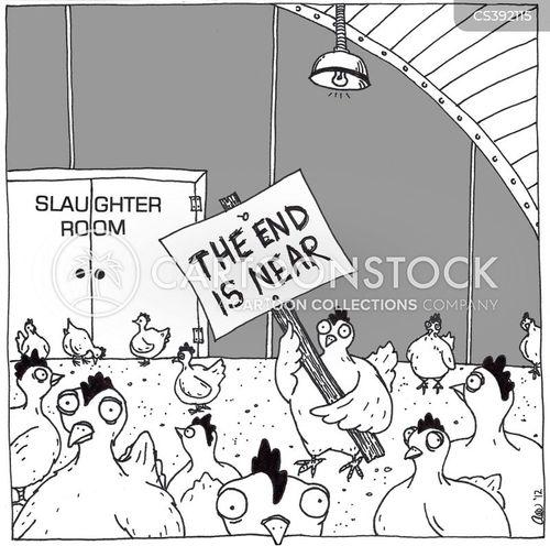 doomsaying cartoon