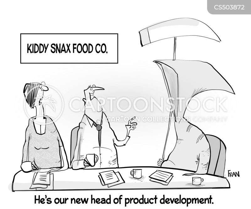 food manufacturing cartoon